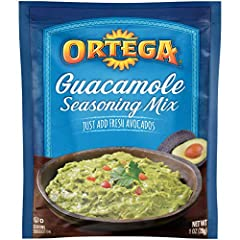 Enjoy Ortega's Guacamole Seasoning; the perfect way to make quick, fresh and absolutely scrumptious homemade guacamole! Perfect on tacos, nachos & quesadillas or just for dipping chips, this mix is perfectly seasoned to turn any meal into a fiesta! O...