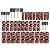 N / A Rotary Tool Kit de Accesorios Set pedacitos de la Herramienta cortadora de Hilo Cortador de Cepillo de Lijado for Nail Brocas
