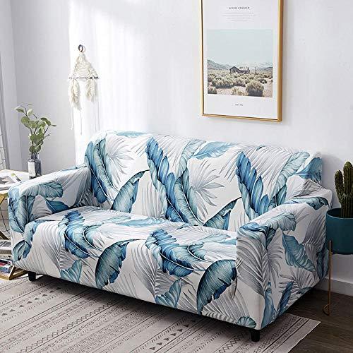 Funda de sofá de 6 plazas en Forma de L, Funda de sofá elástica, Funda de sillón en Forma de L para Sala de Estar, Funda Protectora con Todo Incluido,Color_5,3-Seater_190-230cm