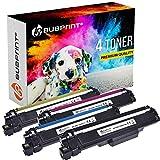 Bubprint - 4 toner XL compatibile per TN-247 TN247 TN 247 Brother DCP-L 3550 CDW HL-L3210CW HL-L3230CDW HL-L 3270 MFC-L 3710 CW MFC-L3730CDN MFC-L 3770