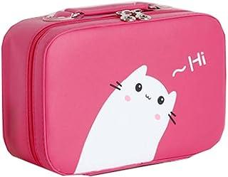 Waterproof Travel Bag Makeup Bag Cosmetic Bag Cosmetic Bag Carry Case,Rose Red