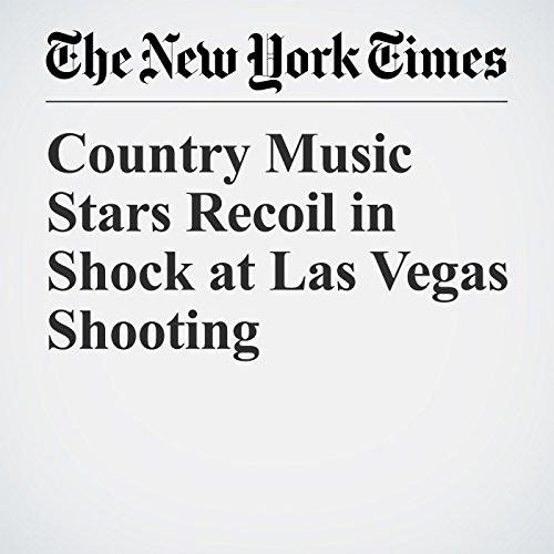 Country Music Stars Recoil in Shock at Las Vegas Shooting copertina