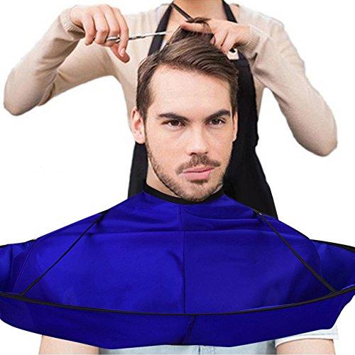 Vovotrade® Salon de coiffure de salon de coiffeur de chapeau de parapluie de chapeau de coupe de cheveux de DIY et stylistes à la maison utilisant (Blue)