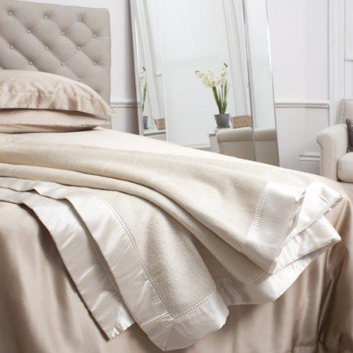 Jasmine Silk Pure Manta Seda de moraRey/Superking (275 x 240cm) - Marfil