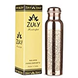 ZULY - 100% Handmade Engraved Pure Copper Water Bottle   34 Oz 1...