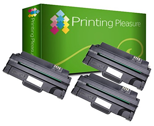 3 Compatible Toner Cartridges for Dell 1130 1130n 1133 1135n - Black, High Yield