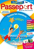 Passeport Cahier de Vacances - Toutes les matières du CP au CE1 - 6/7 ans: Avec autocollants récompenses