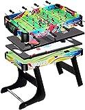YUHT Spieltisch,Multi Game Set Indoor-Spieltisch 4 in 1 Faltbare Unterhaltung Tabelle 32