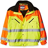 Portwest S464 - Contraste plus Bombardero Jkt, color Amarillo, talla XL