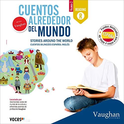 Diseño de la portada del título Cuentos alrededor del mundo: España