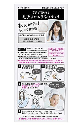リーゼ泡カラー髪色もどしナチュラルブラック108ml【医薬部外品】