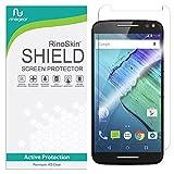 RinoGear Screen Protector for Motorola Moto X Pure Edition/X Style Case Friendly Motorola Moto X Pure Edition/X Style Screen Protector Accessory Full Coverage Clear Film