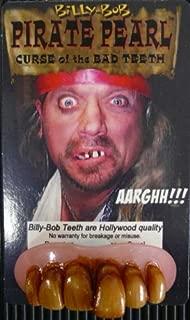 Billy-Bob Adult Pirate Pearl Teeth