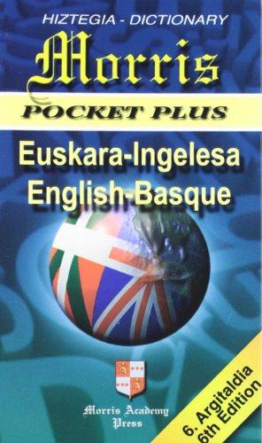 DICCIONARIO EUSKARA INGLESA MORRIS POCKET PLUS