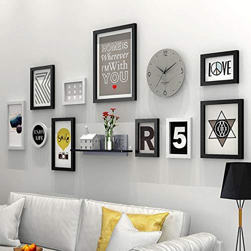 laoga Fotorahmen Stil Vintage Wandbehang Bilderrahmen Set Schlafsofa Wand Holz Bilderrahmen Qualität Bilderrahmen Porta Retrato A