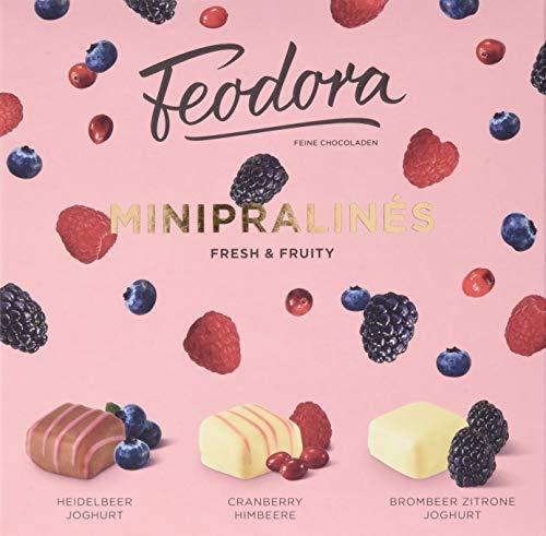 Feodora Minipralinés fresh & fruity, 80 g
