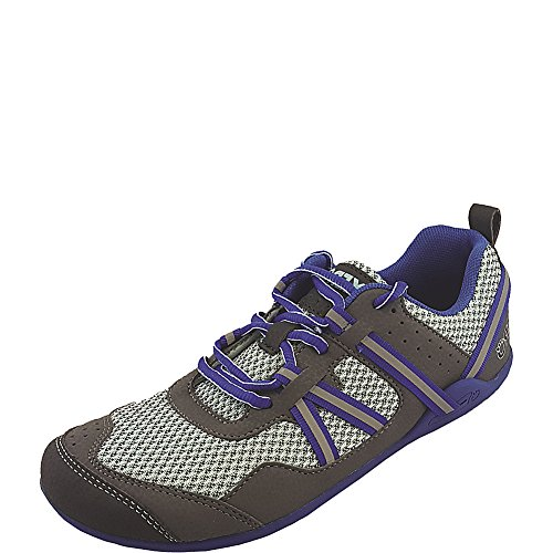 Xero Shoes Prio - Women's Minimalist Barefoot Trail and Road Running Shoe - Fitness, Athletic Zero Drop Sneaker - Nautical Blue