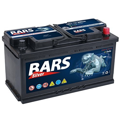 BARS SILVER 12V 100Ah 800A/EN +POL RECHTS L353 x B175 x H190mm Starterbatterie