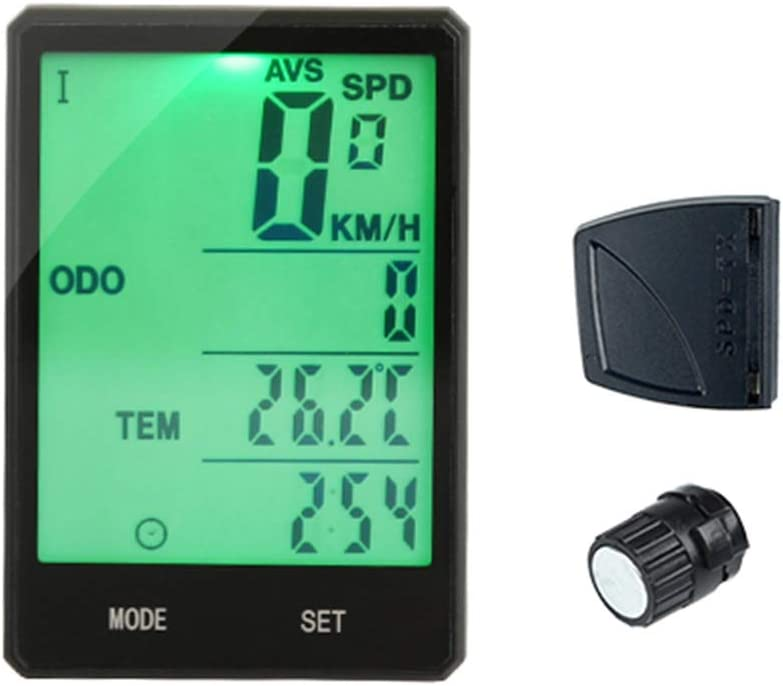LIOOBO Bicycle Speedometer and Cycl Wireless Max 51% OFF Odometer Waterproof Oakland Mall