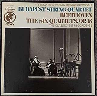 Beethoven: The Complete String Quartets Vol.1: the Six Quartets Op.18 (Vinyl)