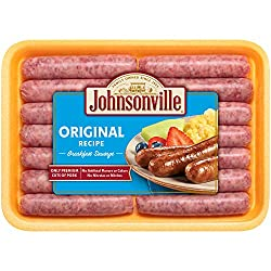 Johnsonville, Original Breakfast Sausage Links, 12 oz (Frozen)