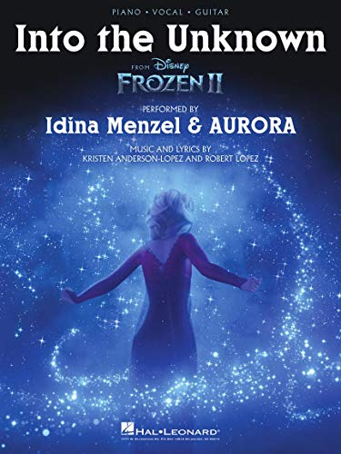 Into the Unknown (from Frozen II): Piano/Vocal/Guitar Sheet Music