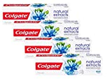 Colgate Oral care Dentifrice Natural Extracts Blancheur 75 ml - Lot de 4