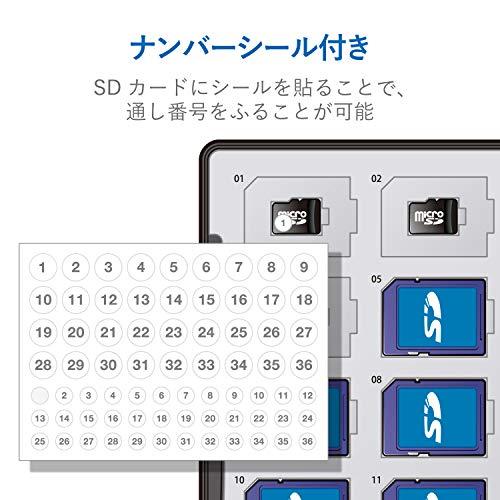 エレコム『メモリカードケース72枚収納』
