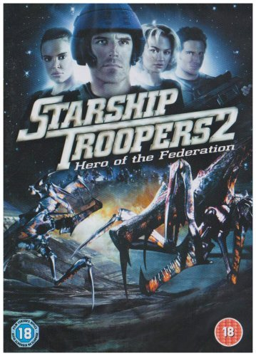 Starship_Troopers_2:_Hero_of_the_Federation [Reino Unido] [DVD]