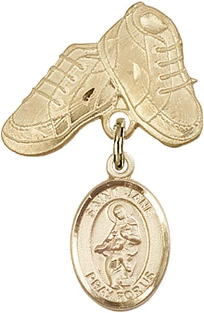 Baby Badge 14kt Gold Max 61% Max 80% OFF OFF badge with of Valois St. Jane Charm