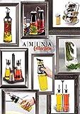 A|M|I|N|A Gewürzregal Marakesh Edelstahl mit 6 Gewürzgläsern - 6 x 90 ml Gewürzstreuer aus Glas mit Dosierkopf | zur Kräuter- & Gewürze Aufbewahrung | leer - 4