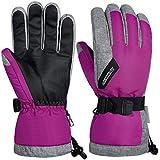 coskefy Guantes Moto Invierno Guantes Termicos para Hombre y Mujer Guantes Esquí Impermeable Guante Nieve Calientes para Snowboard con 3M Thinsulate Ski Gloves