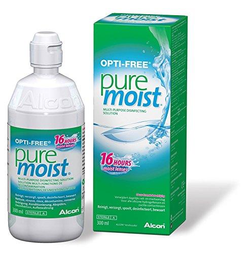Opti-Free Pure Moist Kontaktlinsenflüssigkeit, 300ml, Monatsvorrat