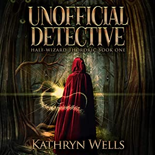Unofficial Detective: The Mage Apprentice audiobook cover art