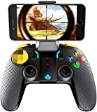 Gamepad Wireless Mobile Smart Gamepad Controller Joystick Pubg per Galaxy S20 / S20 + / S10 120 + Nota 10 / Huawei M40 P30 LG Smart Android Tablet Smartphone (Color : Default)