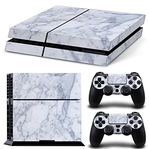 Mcbazel Pattern Serie Decals Vinyl Skin Aufkleber für Original PS4 Only (Not for PS4 Slim/Pro) Marmor