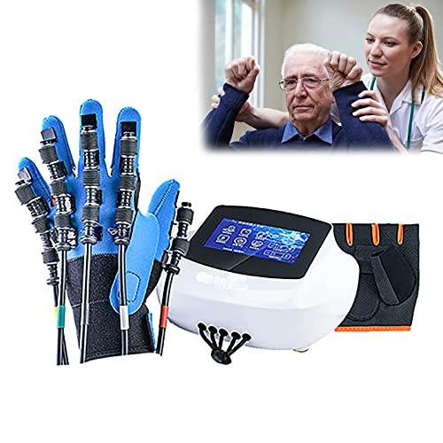 Robot de rehabilitación Ortesis de dedos Férula de mano de trazo Guantes de entrenamiento manual Evitan la rigidez en el trazo Guantes de dedos Aumentan el tono muscular