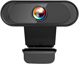 External Computer Camera with Microphone for Mac Windows, 1080P HD USB Webcam for PC Desktop Video Conference Live Streami...