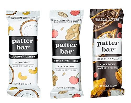 PATTERBAR Whole Food Bars