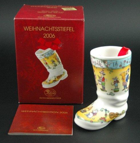 Hutschenreuther Weihnachtsstiefel 2006