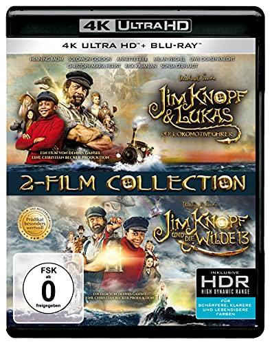 Jim Knopf & Lukas der Lokomotivführer + Jim Knopf und die Wilde 13 (2 4K Ultra HD) (+ 2 Blu-ray 2D)