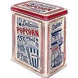 Nostalgic-Art 30144, USA, Popcorn, Vorratsdose L, Metall, 10 x 14 x 20 cm
