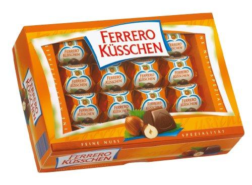 Ferrero Küsschen , 4er Pack (4 x 284 g Packung)
