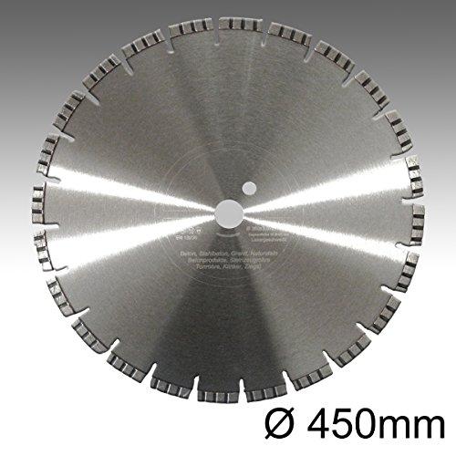 Premium Diamant-Trennscheibe Diamantscheibe Turbo Laser 450mm x 25,4mm