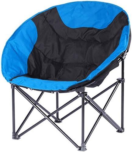 LNYJ Bureau déjeuner Pause Chaise Portable Chaise de Camping Pliante Confortable lumière Demi-Lune Chaise de Plage Chaise Longue Oxford Hardcore Moon Chaise Paresseuse Chaise Portant 120kg