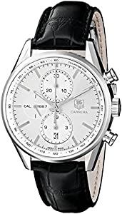 Tag Heuer Men's CAR2111.FC6266 Carrera Silver Dial Dress Watch image