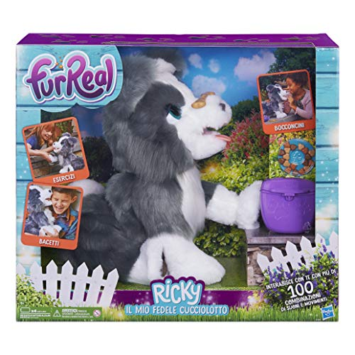 Hasbro FurReal Ricky, il mio fedele cucciolotto,