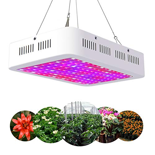 Plantenlamp 1200W, LED Grow Lamp Full spectrum met UV IR Rood Blauw Licht Plantenlamp Full Spectrum voor broeikas Grow Box Plantenlamp