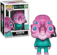Funko Pop! Rick and Morty Glootie Exclusive Vinyl Figure Shared Sticker Summer Convention 2019 SDCC
