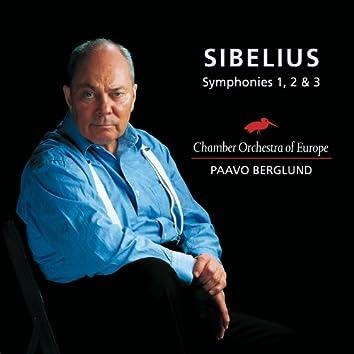 Sibelius : Symphonies 1, 2 & 3